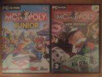 Monopoly - PC Bundle - Monopoly New Edition + Monopoly Junior - GSP
