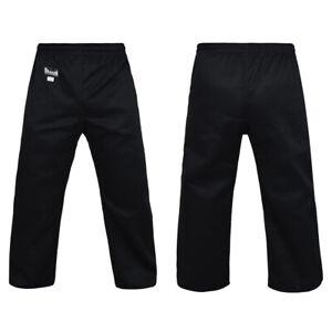 Morgan Sports Dragon Gi Martial Arts Pants - 8oz - Black - Kids & Adults Sizes