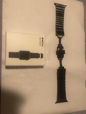 Apple Watch Link Bracelet 42 /44mm Space Black Genuine Grey Stainless Steel