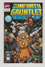 INFINITY GAUNTLET #1, LOT OF 3 NM COPIES. 1991 MARVEL. NM CONDITION.