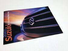 2003 Suzuki XL-7 Grand Vitara Aerio Vitara Full Line Brochure