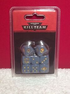 Warhammer 40K Kill Team Space Wolves Dice - NEW