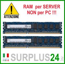 Kit RAM 16GB (2x 8GB) SK HYNIX 2Rx8 PC3-12800R DDR3 1600MHZ ECC REG SERVER