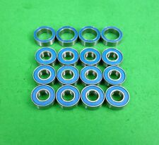Blue sealed ball bearing set for Tamiya TT02B (buggy) TT01 TT 01 TT01E* & DF02