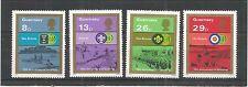 GUERNSEY 1982 BOY SCOUT MOVEMENT SG,259-262 UM/M N/H LOT R688
