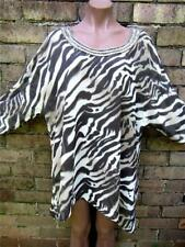 Polyester Animal Print Batwing, Dolman Sleeve Hand-wash Only Tops & Blouses for Women