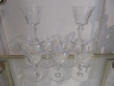 9 Gläser für Wasser- Kristall Baccarat Piccadilly (Crystal Water Farblose