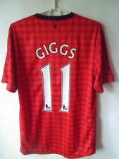 GIGGS !!! 2012-13 Manchester United Home Shirt Jersey Trikot S