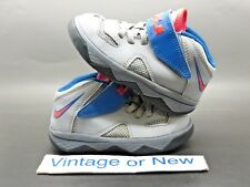 Nike LeBron Soldier VII 7 Cool Grey Blue Infrared 2014 TD sz 8C