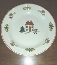 "Classic Collectors Studio Joy of Christmas Dishes 6.5"" Plate limited  firing"