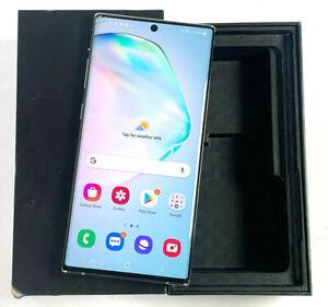 Samsung Galaxy Note10+ 5G SM-N976B 256GB Aura Glow Unlocked Single SIM POOR 978