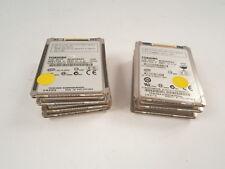 """JOB LOT 7 x Toshiba MK8009GAH 1.8"""" 80GB 60GB 160GB Hard Disk Drive * WORKING *"""