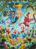 """Carl Barks: """"The Makings of a Fish Story"""" Canvas-Druck (51x69cm / 20x27inches)"""