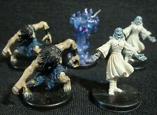 Dungeons & Dragons Miniatures Lot -  Wight & Spectral Magelord !!  s67