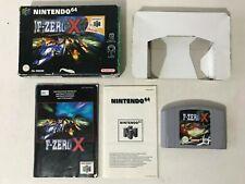 Nintendo 64 N64 Game - F Zero X - Boxed & Instructions