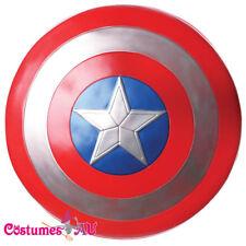 "Licensed Captain America Shield 24"" Fancy Dress Superhero Costume Accessory"