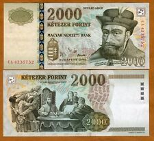 Hungary, 2000 Forint, 2002, Pick 190 (190a) UNC