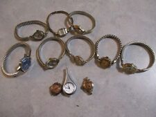 Vintage womens watch lot Bulova and others
