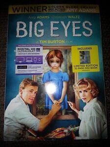 Big Eyes DVD 2015  DVD SET:  INCLUDING MINI BOOK