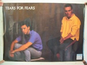 Tears For Fears Poster band Shot Vintage