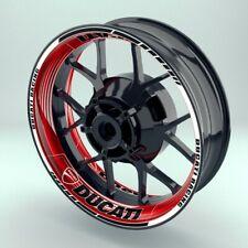 Felgenaufkleber Motorrad Felgenrandaufkleber Design Saw Ducati komplettes Set