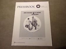 X   MOVIE PRESSBOOK-SCARECROW--GENE HACKMAN-AL PACINO--
