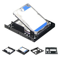 2.5 Inch To 3.5 Inch Ssd Solid Hard Drive Bay Tray Mounting Bracket A JE