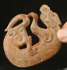 Old China natural jade hand-carved statue of dragon pendant