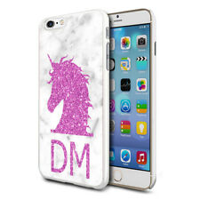 Personalised Pink UNICORN Head Phone Case Cover for Various Mobile Phones