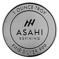 Asahi Refining 1oz .999 Silver Round
