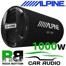 "ALPINE SWT-12S4 1000 WATTS PASSIVE 12"" Sub Subwoofer Enclosure Box Car Bass Tube"