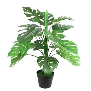 80 cm Artificial Monstera Plant Tropical Potted