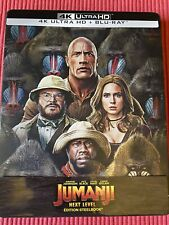 Jumanji 2 Next level Steelbook bluray 4k sans bluray standart