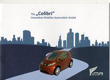 IMA Colibri (made in Germany) _2013 Prospekt / Brochure
