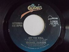 Michael Jackson Off The Wall / Get On The Floor 45 1979 Epic Vinyl Record