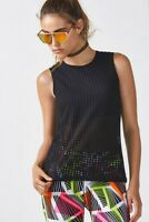 Fabletics Women's Bryce Tank Top, Black Cotton Size L; $40 - NEW NWT