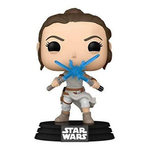 Funko Star Wars POP Rey Two Lightsabers Vinyl Figure NEW IN STOCK
