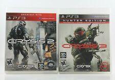 PS3 Game Lot - Crysis 2 and Crysis 3 Hunter Edition