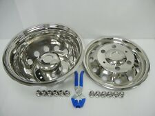 """16"""" Ford Transit Twin Rear Wheel Trims Covers UpTo 2006 ONLY"""