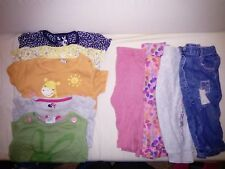 baby girl bundle 6-9months tops and leggings /jeans, M&S, ted baker, mini mouse,