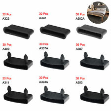 30Pc Plastic Bed Slat End Caps Holders 2 Pins Sides Connector Furniture Bed Base
