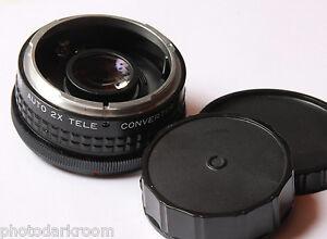 Dejur 2x Teleconverter For Canon FD - Japan - Glass Good - USED D38