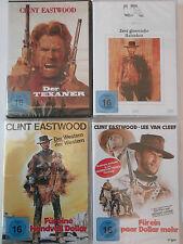 Clint Eastwood Paket - Der Texaner, Handvoll Dollar, mehr, glorreiche Halunken