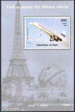 Niger 1998 Concorde/Aviation/Transport/Planes/Aircraft/Flight 1v m/s (b777)