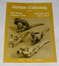 ANTIQUE COLLECTING SEPTEMBER 1975 - ART DECO FIGURES/A QUANTITY OF MEASURES