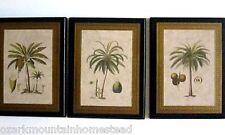 Palm Tree plaques tropical palms wall decor beach bath sun room