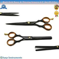 Black Series Professional Haircutting Hairdressing Trimming Thinning Scissors 6""