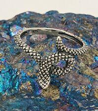 Snake Ring - Sterling Silver 925, Animal