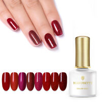 BORN PRETTY 6ml Red Gems Gellack Soak Off UV LED Gel Nail Polish Shiny Maniküre