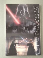 Authentic STAR WARS Darth Vader Obiwan 3D Lenticular Card / Postcard Japan